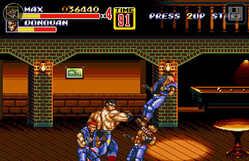Streets of rage 2 classic screenshot 2
