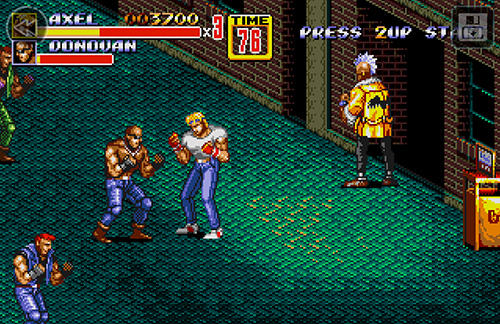 Streets of rage 2 classic screenshot 3