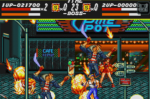 Screenshots von Streets of rage classic für Android-Tablet, Smartphone.