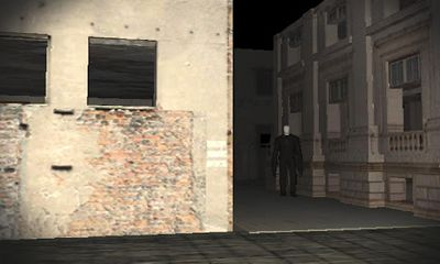 Screenshots of the Streets of Slender for Android tablet, phone.