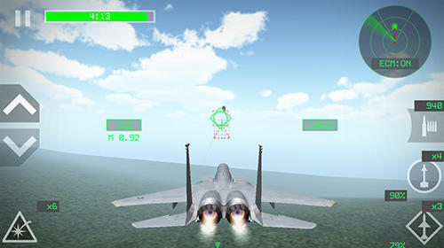 Скріншот гри Flight simulator 3D: Airplane pilot на Андроїд планшет і телефон.