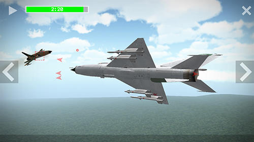 Геймплей Flight simulator 3D: Airplane pilot для Android телефону.