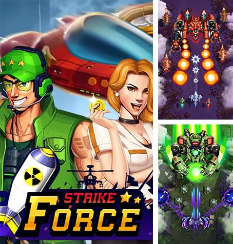 Strike force: Arcade shooter. Shoot 'em up