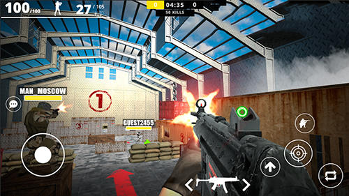 Strike force online скриншот 2