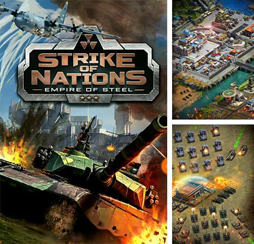 Zusätzlich zum Spiel Madlands Mobile für Android-Telefone und Tablets können Sie auch kostenlos Strike of nations: Empire of steel. World war MMO, Schlag der Nationen: Imperium aus Stahl. Weltkriegs-MMO herunterladen.