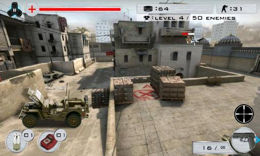Screenshots do Strike shooting: SWAT force - Perigoso para tablet e celular Android.