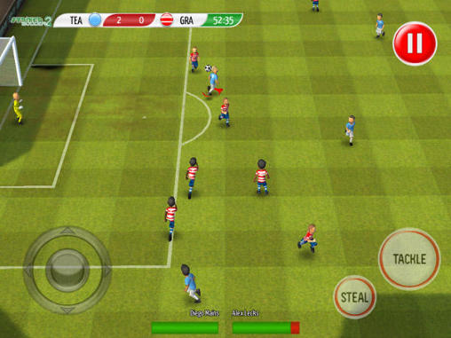 Screenshots von Striker soccer 2 für Android-Tablet, Smartphone.