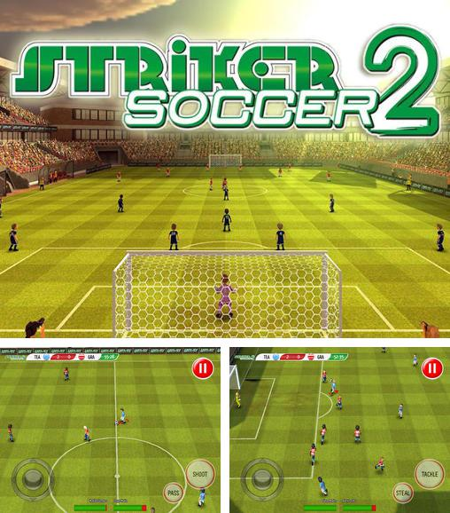 In addition to the game Striker Soccer Eurocup 2012 for Android phones and tablets, you can also download Striker soccer 2 for free.