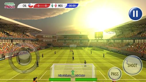 Striker soccer: America 2015 screenshot 3