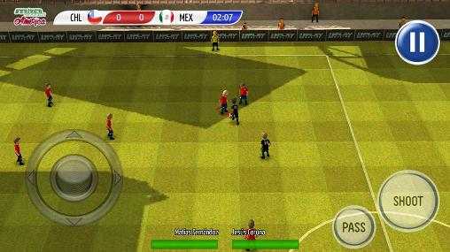 Striker soccer: America 2015 screenshot 4