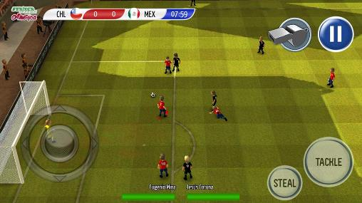 Striker soccer: America 2015 screenshot 5