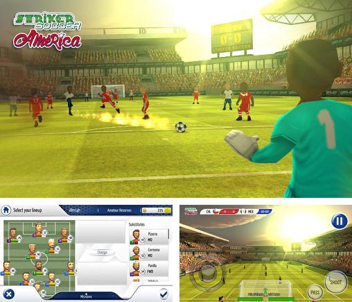 In addition to the game Striker Soccer Eurocup 2012 for Android phones and tablets, you can also download Striker soccer: America 2015 for free.
