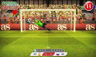 Download Striker Soccer Eurocup 2012 Android free game.