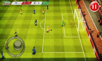 Screenshots von Striker Soccer Eurocup 2012 für Android-Tablet, Smartphone.