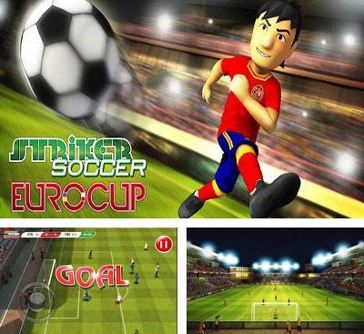 In addition to the game Striker Soccer London for Android phones and tablets, you can also download Striker Soccer Eurocup 2012 for free.