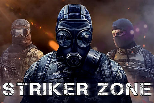 Striker zone: 3D online shooter poster