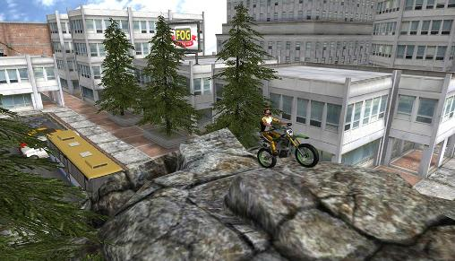 Screenshots von Stunt bike 3D für Android-Tablet, Smartphone.
