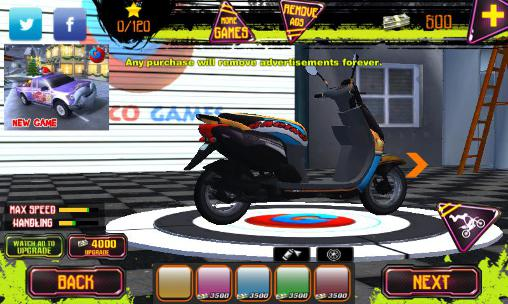 Screenshots von Stunt bike challenge 3D für Android-Tablet, Smartphone.
