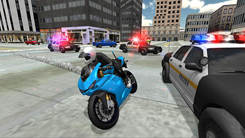Kostenloses Android-Game Stunt Bike Rennsimulator. Vollversion der Android-apk-App Hirschjäger: Die Stunt bike racing simulator für Tablets und Telefone.