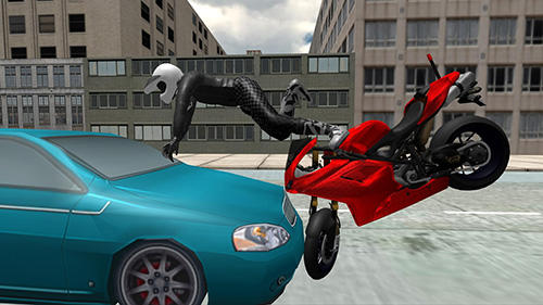 Stunt bike racing simulator screenshot 2