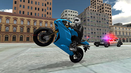 Screenshots von Stunt bike racing simulator für Android-Tablet, Smartphone.