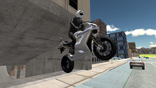 Stunt bike racing simulator screenshot 4