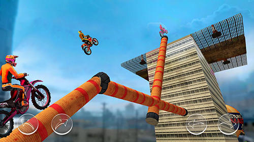 Гра Stunt master 2018: Bike race на Android - повна версія.