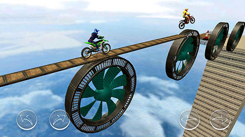 Геймплей Stunt master 2018: Bike race для Android телефону.