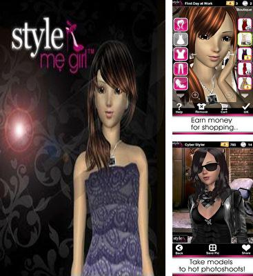 In addition to the game Princess Hair Salon for Android phones and tablets, you can also download Style Me Girl for free.