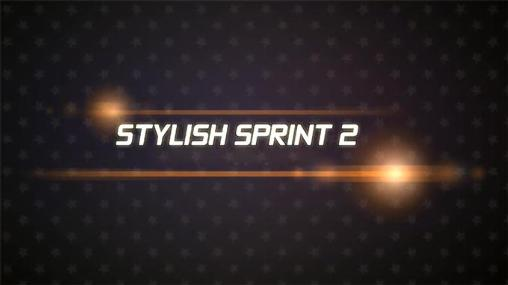 Stylish sprint 2 poster