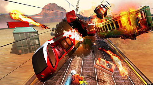 Screenshots von Subway rider: Train rush für Android-Tablet, Smartphone.