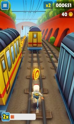Скачати гру Subway Surfers на Андроїд телефон і планшет.