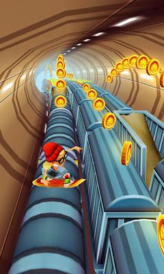Screenshots von Subway Surfers v1.40.0  für Android-Tablet, Smartphone.