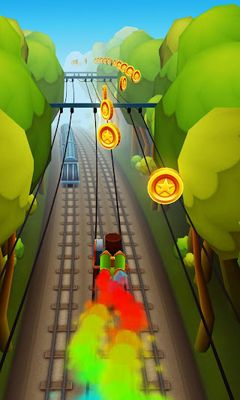 Screenshots do Subway Surfers - Perigoso para tablet e celular Android.