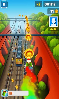 Геймплей Subway Surfers для Android телефону.