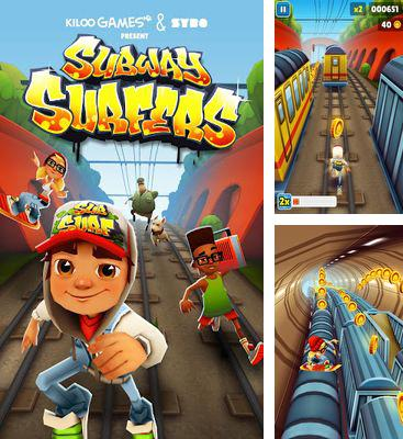 In addition to the game Hill Climb Racing for Android phones and tablets, you can also download Subway Surfers v1.40.0  for free.