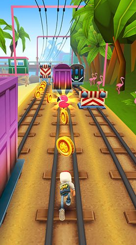 Kostenloses Android-Game Subway Surfers: Welttournee Miami. Vollversion der Android-apk-App Hirschjäger: Die Subway surfers: World tour Miami für Tablets und Telefone.