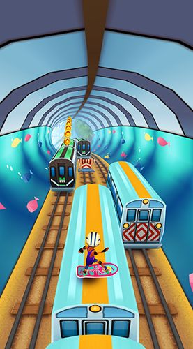 Subway surfers: World tour Miami für Android spielen. Spiel Subway Surfers: Welttournee Miami kostenloser Download.