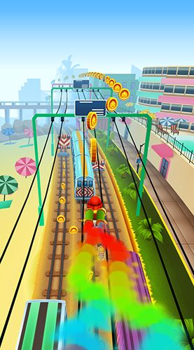 Гра Subway surfers: World tour Miami на Android - повна версія.