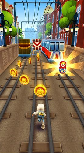 Kostenloses Android-Game Subway Surfers: Welttournee Moskau. Vollversion der Android-apk-App Hirschjäger: Die Subway surfers: World tour Moscow für Tablets und Telefone.