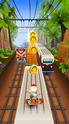 Subway surfers: World tour Mumbai картинка из игры 3
