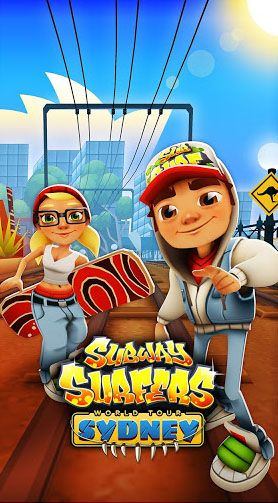 Subway surfers: World tour Sydney poster