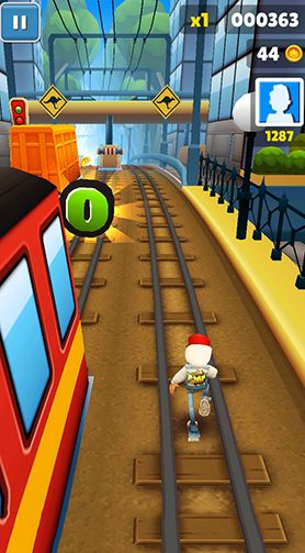 subway surfers pour tablette android gratuit