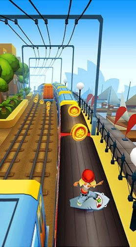 Subway surfers: World tour Sydney screenshot 2