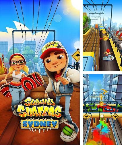 En plus du jeu L`homme qui monte  pour téléphones et tablettes Android, vous pouvez aussi télécharger gratuitement Les Surfers de tunnels: le tour du monde Syndey, Subway surfers: World tour Sydney.