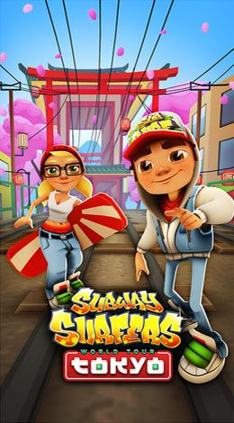 Subway surfers: World tour Tokyo poster