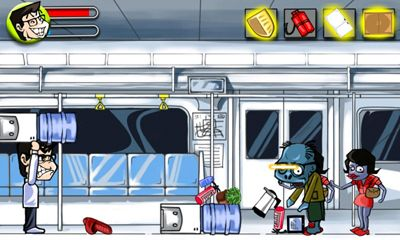Screenshots do Subway Zombies - Perigoso para tablet e celular Android.