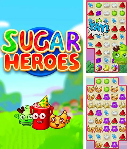 Sugar heroes: World match 3 game!