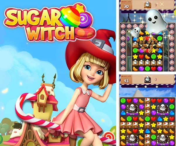 Sugar witch: Sweet match 3 puzzle game