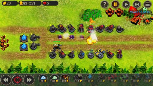 Screenshots von Sultan of towers für Android-Tablet, Smartphone.